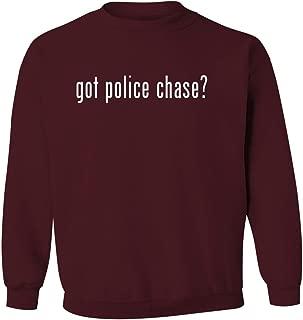got police chase? - Men's Pullover Crewneck Sweatshirt