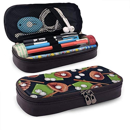 Baseball-Paket Bleistiftetui Bleistiftbeutel Briefpapier Organizer Kosmetische Make-Up-Tasche, Halter Für Bleistifte Und Kugelschreiber