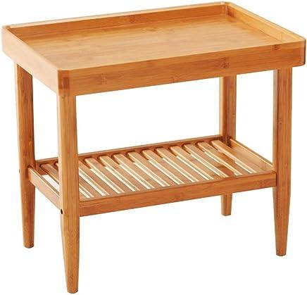 ZR- サイドテーブル、ソファの上の小さなコーヒーテーブル、リビングルームのホームティーテーブル、バルコニーの正方形のテーブル