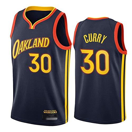 NHICR Curry Warriors Basketballtrikot Herren Weste Tops ärmellos Fan T-Shirts Retro Outdoor Basketball Uniform Sportbekleidung Casual Fitness Trikot F-M