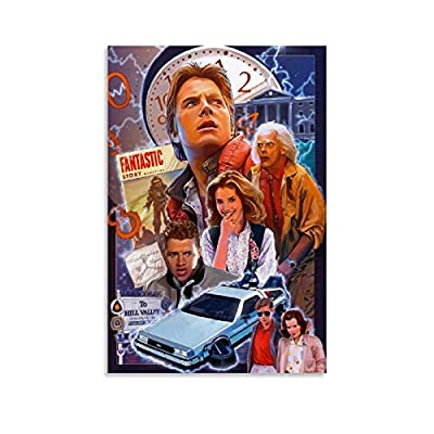 Back To The Future Characters Poster, choice of sizes