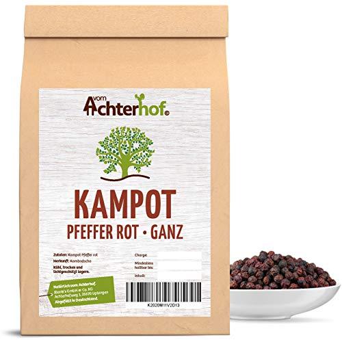 Kampot-Pfeffer rot 250g edelste Pfefferkörner aus Kambodscha ideal für die Pfeffermühle