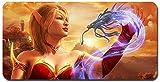 World of Warcraft großes Mauspad - wasserdicht und rutschfest (56, 800 * 300 * 3MM/31.5 * 11.7 * 0.12inch)