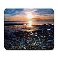 マウスパッド耐久性と快適さBeautiful Beach Sun Setマウスパッド耐久性と快適さMP72