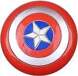 MOMAMOM Escudo De Disfraz De Capitán América Versión Completa Vengadores Mano Accesorios Modelo Decoración para Adultos Escudo para Niños Niño Juego De rol Juguete