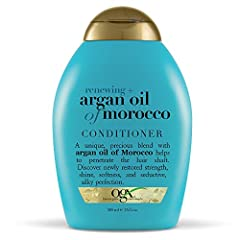 ARGAN OIL CONDITIONER: Our signature line, infused with Argan oil from Morocco, deeply hydrates & helps restore strength, shine, & softness. Smooth your locks to their silkiest potential. POWERFUL PROTECTION: This rich, renewing conditioner infused w...
