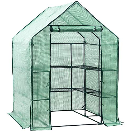 Display4top Greenhouse Grow House 143 x 143 x 195 cm