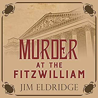 Murder at the Fitzwilliam audiobook cover art