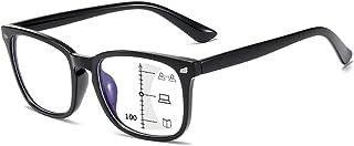 Suertree Glijbril leesbril bifocale blauw lichtfilter leesbril blauw licht blokkeren anti-blauw licht leeshulp kijkhulp oo...
