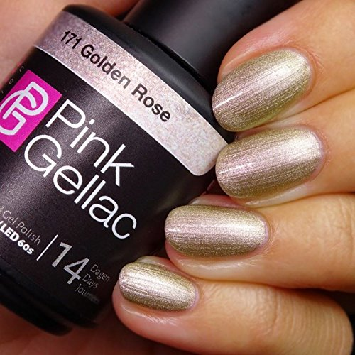 Pink Gellac Gel Nagellak Kleur 171 Golden Rose