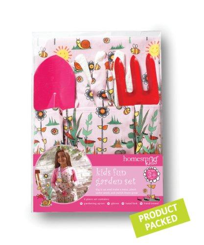 Cooksmart Kids - Kit de 4 pièces de Jardinage pour Filles