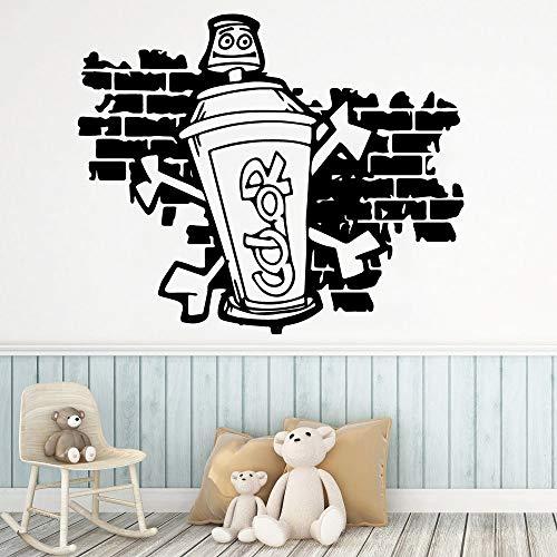 zhuziji Emoji Poo Pegatinas de Pared Habitaciones Grandes Ng Fondo Vinilo PVC Sala de Estar a Prueba de Agua Compañía Oficina de la Escuela Mural85x102cm