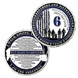 Police Challenge Coin I Got Your 6