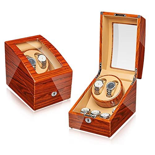 Watch Winder,Cajas giratorias para relojes Automático Watch Winder Box Luxury Wooden para...