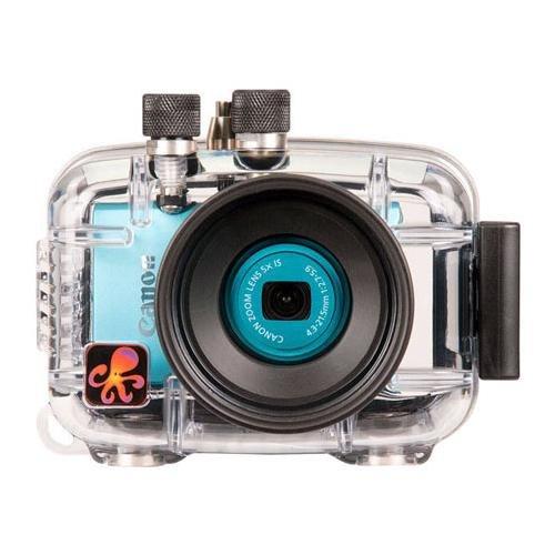 Ikelite 6243.11 Carcasa submarina para cámara - Carcasa acuática para cámaras (60 m, Policarbonato, Transparente, Resistente al Agua, Canon PowerShot ELPH 110 HS, IXUS 125 HS, 147 mm)
