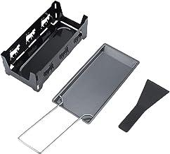 Outil de cuisson, ensemble de mini raclette de gril noir, conception de revêtement antiadhésif fondant uniformément pour ...