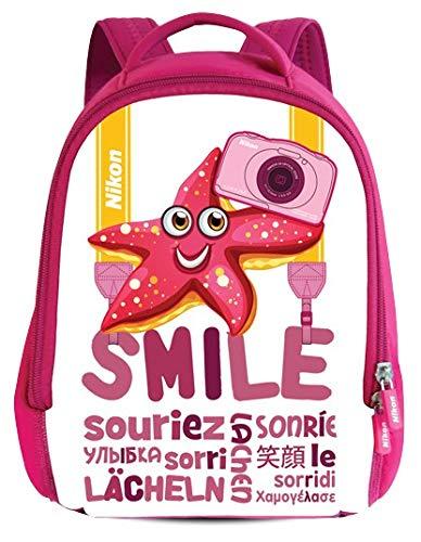 Nikon kinder-rugzak roze