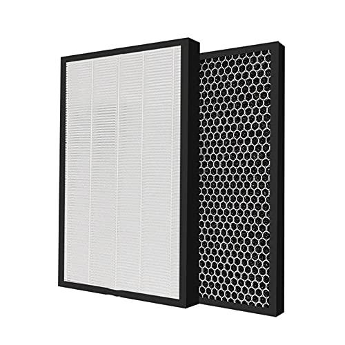 ZCDZJXB Purificador de Aire KC-D41R-B Filtro de Alta eficiencia FZ-D40HFE Filtro de carbón FZ-D40DFE Filtro de humidificación FZ-A61MFFR Accesorios de humidificador de Aire. (Color : Set)