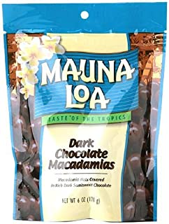 Mauna Loa Dark Chocolate Covered Macadamia Nuts, 6 oz, 2 pk