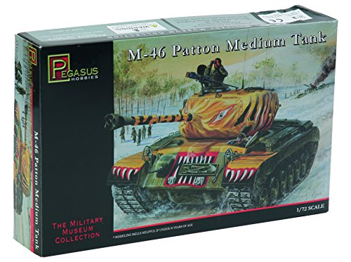 'Pegasus pg7506 – Véhicule – 1/72 M46 Patton Médium Réservoir