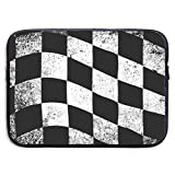SDSCfhk Checkered Flag Laptop Sleeve 13,15 inches Shockproof Computer Shoulder Bag