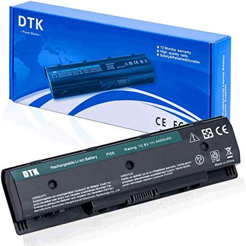 Dtk Portatile Nuovo Batteria di Ricambio per HP PI06 PI09 710416-001 710417-001, envy 15 15T 17 Pavilion 14-E000 15-E000 15t-e000 15z-e000 17-E000 17-E100 17Z-E100 PI06 [10.8V 4400MAH]