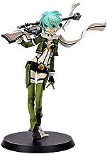 VENDISART Anime Sword Art Online II Sao Aquamarine Asada Shino Sinon Gun Gale en línea Cool Girl Ver PVC Figura de acción Modelo Juguetes 22cm