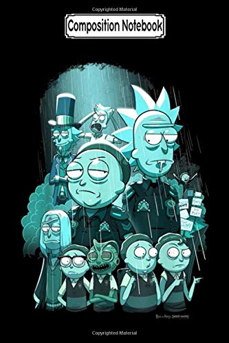 Composition Notebook: Rick and Morty Tales From The Citadel Journal/Notebook Blank Lined Ruled 6x9 100 Pages