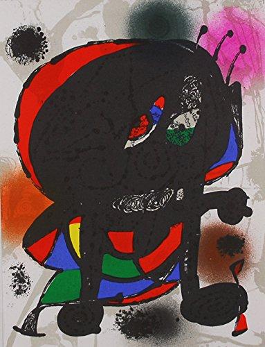 JOAN MIRO - Litografia original I - Miró litografo II .Edidion limitada