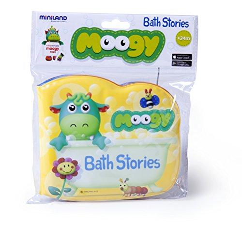 Miniland 96284 – Moogy. Bath Stories, Sachet avec Suspension, 29,7 cm