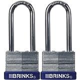 BRINKS 172-42201 40mm Laminated Steel Padlock...