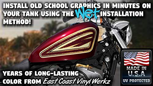 Iron Cross 2 Color Pinstripe Motorcycle Decal Graphics Gas Tank Fender Set Lawrensongroup Co Nz