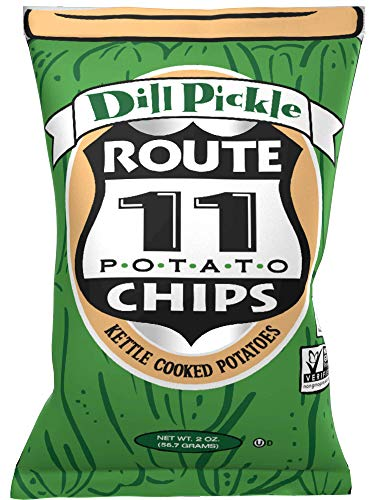 Route 11 Potato Chips : Dill Pickle (30 bags (2 oz each))