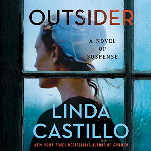Outsider audiobook cover art