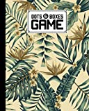 Dots And Boxes Game: Dots & Boxes Activity Book Watercolor Florals Cover - 120 Pages!, Dots and Boxes Game Notebook - Short or Long Games (8.5 x 11 inches) by Knut Burger