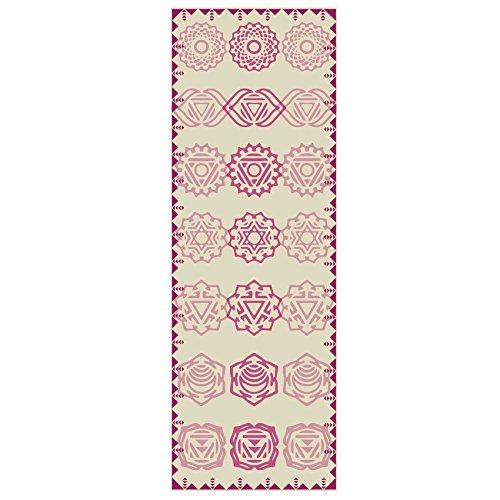 #DoYourYoga Tappetino da Yoga »Ravana« / Il Tappetino da Yoga e Ginnastica Ideale per i Principianti. Dimensioni: 183 x 61 x 0,4cm / Tribal Complete
