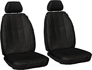 Sperling Custom pu Leather car seat Covers Compatible with Honda CRV (RW) SUV 2017-On PU Leather Front Seat Covers Waterproof