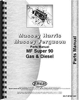 Massey Ferguson Super 90 Tractor Parts Manual (MH-P-MFS90 G&D)