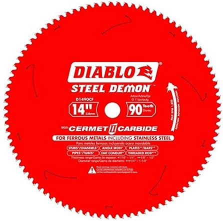 """wholesale Freud D1490CF 14"""" x 90 Tooth Steel sale online Demon Thin Metal Cutting Saw Blade outlet sale"""
