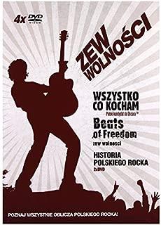 Zew wolno????ci: Historia polskiego rocka / Beats of freedom - Zew wolno????ci / Wszystko co kocham [Box] [5DVD] (No English version) by Elzbieta Karkoszka