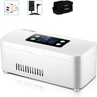 Portable Insulin Refrigerator Refrigerator, LED Display, Medicine Refrigerator USB Travel Refrigerator for Medicines,Insul...
