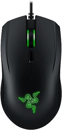 Razer Abyssus V2–Essential 双手游戏鼠标–5,000DPI 光学传感器 rz01–01900100-r3u1)