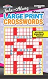 Take Along Large Print Crosswords Puzzle Book - Volume 57