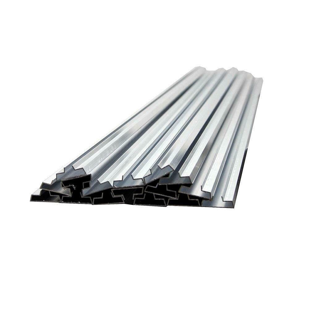 1 pc of 15 Aluminum Metal Groove Inserts Protec Max 58% OFF NEW before selling Wall Panels Slat