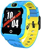 Hngyanp Kids Smart Watch GPS Locator SOS Emergency Call Information Push, Two-Way Telephone