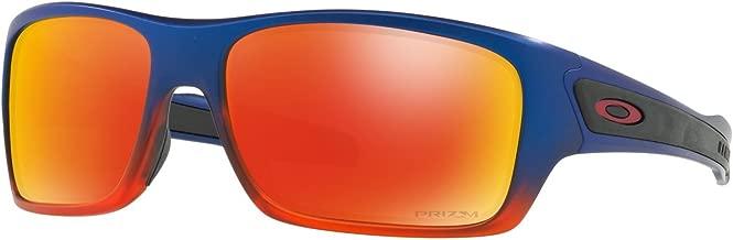 Oakley Men's Turbine OO9263-19 Wrap Sunglasses