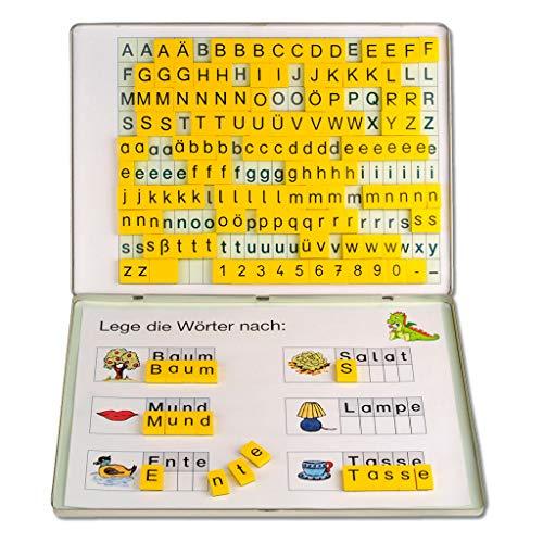 """Wiemann Lehrmittel Magnetbox Deutsch, """"ABC-Drache"""", Lehrmittel Grundschule"""