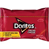 Doritos Top N Go Nacho Tortilla Chips, Cheese Flavored, 1.4 Ounce (Pack of 21)