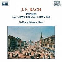 Partitas 5 & 6 by J.S. BACH (1994-01-28)
