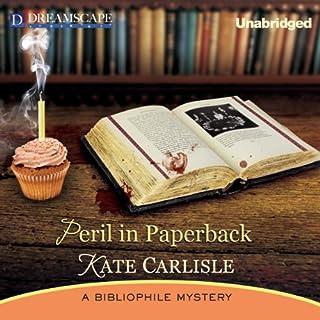 Peril in Paperback audiobook cover art